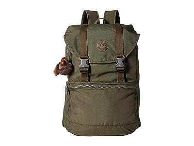 Kipling Experience Backpack (Jaded Green) Backpack Bags