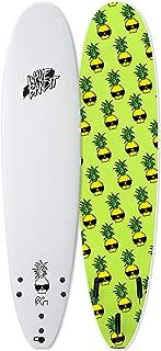 Wave Bandit Ben Gravy Pro EZ Rider Surfboard, White, 9'0