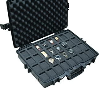 Case Club Waterproof 32 Watch Travel Case