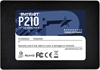"Patriot P210 SATA 3 512GB Computer Data Storage Internal Solid State Drive 2.5"" SSD- P210S512G25"