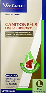 Virbac Canitone-LS Liver Support Large (30 Tablets)