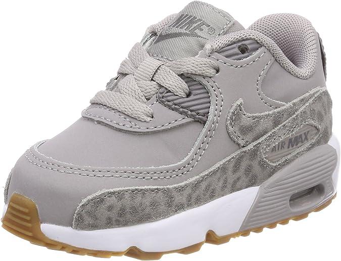 Nike Air Max 90 Se LTR (TD), Sneaker Bambina, Grigio (Atmosphere ...