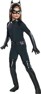 Rubie's Girl's Batman Dark Knight Rises Deluxe Catwoman Costume, X-Large