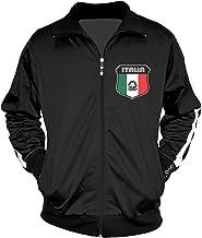 Amdesco Men's Italian Pride, Italia Italy Track Jacket