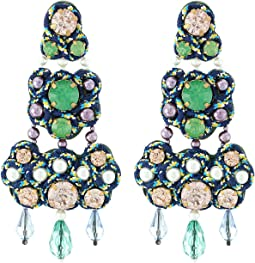 Tory Burch - Beaded Chandelier Earrings