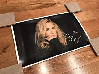SHERYL CROW gorgeous, sexy silver signed limited edition (500) 11x17