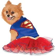 DC Comics Super Girl Pet Tutu Dress, X-Large
