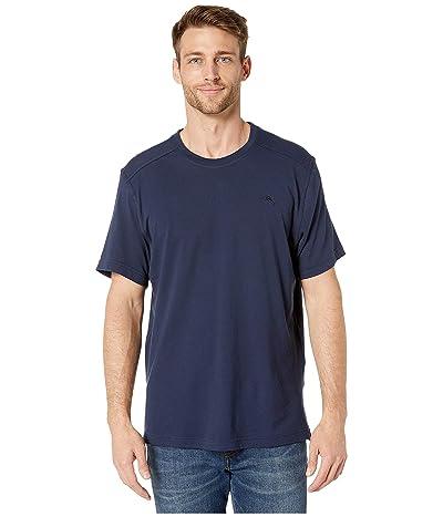 Tommy Bahama Crew Neck Lounge T-Shirt (Ocean Deep) Men