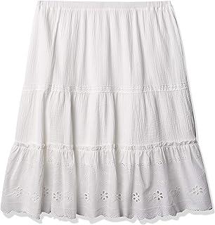Women's Mixed Media Maxi Skirt