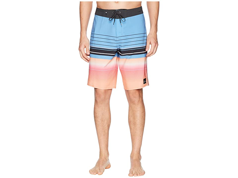 Quiksilver Highline Swell Vision 21 Boardshorts (Silver Lake Blue) Men