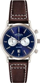 Rotary Men's GS02730/05 Avenger Analog Display Quartz Brown Watch