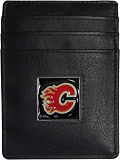 Siskiyou NHL Leather Money Clip/Cardholder Packaged in Gift Box