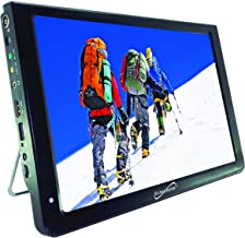 SuperSonic SC-2812 Portable Widescreen LCD Display with Digital TV Tuner, USB/SD Inputs and AC/DC Compatible for RVs (12-i...