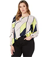 Plus Size Maddy Long Sleeve Blouse