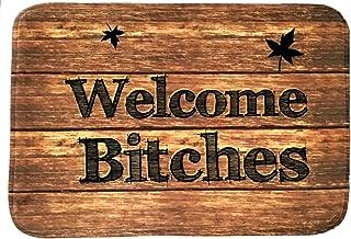 unique welcome mats