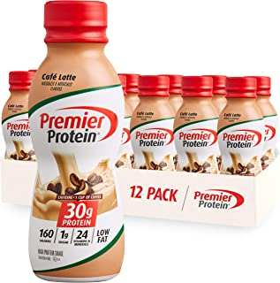 Best Premier Protein 30g Protein Shake, Café Latte, 11.5, Pack of 12 Cafe Latte 138 Fl Oz Reviews