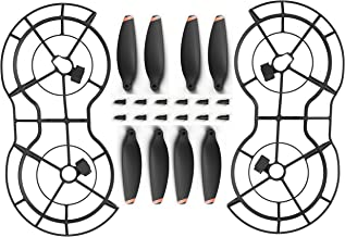BW#A 4pcs Propeller Guard Rings Forward Reversal Propellers for SG106 RC Drone
