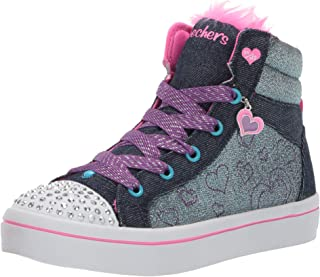 Skechers Kids' TWI-Lites-Fashion Flip Sneaker