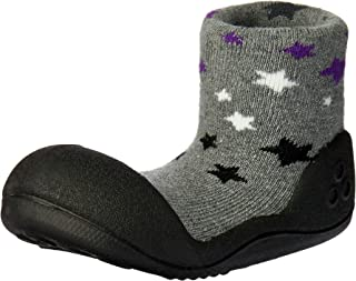 Attipas Twinkle Baby Walker Shoes, Black, Large