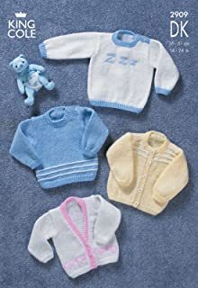 king cole knitting patterns for toddlers