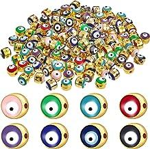 Wholesale Evil eye charms 10-250 bracelet connector Evil /'s Eye supplies jewelry supplies charms supplies Wooden evil eye OMG 450017671720