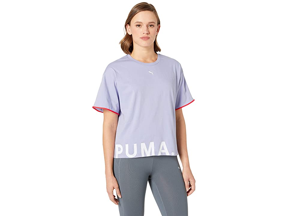 PUMA Chase Cotton Tee (Sweet Lavender) Women