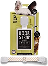 Door Buddy Adjustable Door Strap and Latch. Easy Way to Dog Proof Litter Box. No More Pet Gates or Cat Doors. Convenient Cat and Adult Entry. No Tools Installation. Stop Dog from Eating Cat Poop Today