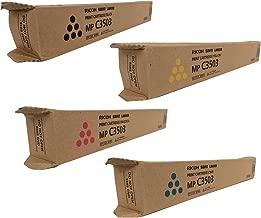 Ricoh 841813, 841814, 841815, 841816 Standard Yield Toner Cartridge Set - Lanier MP C3503