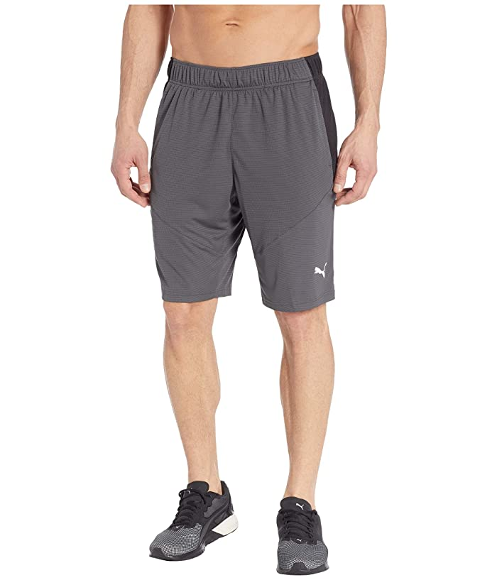 PUMA Energy Knit 10 Shorts (Asphalt Black) Men