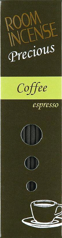 留まるコショウビタミン玉初堂のお香 ルームインセンス プレシャス Coffee espresso スティック型 #5516