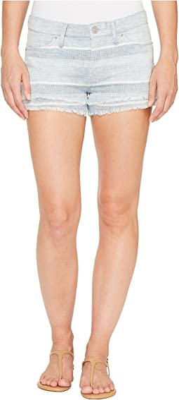 Hudson Midori Double Layer Cut Off Shorts in Barely There 2