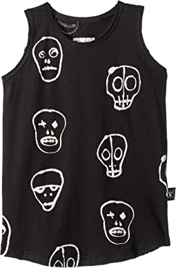 Nununu Skull Mask Tank Top (Toddler/Little Kids)
