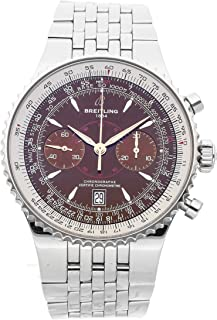 Breitling Montbrillant Mechanical (Automatic) Bronze Dial Mens Watch A2334021/Q548 (Certified Pre-Owned)