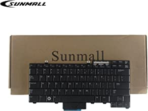 SUNMALL Laptop Keyboard Replacemnet Compatible with Dell Latutude E6400 E6410 E6500 E6510 E5410 E5510 E5400 E5500 Precision M2400 M4400 M4500 Series Black US Layout(6 Months Warranty)