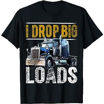 WORLDS BEST TRUCKER truck driver xmas birthday gift ideas  mens womens T SHIRT