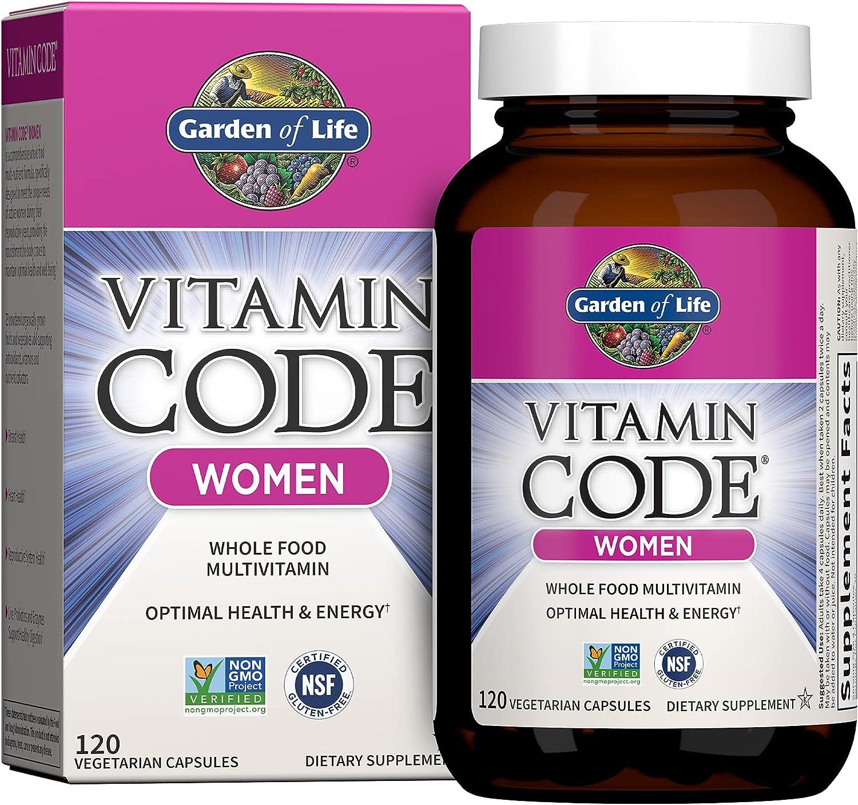 Garden of Life Multivitamin for Ranking TOP20 Women Dedication Women's Code Vitamin Mult
