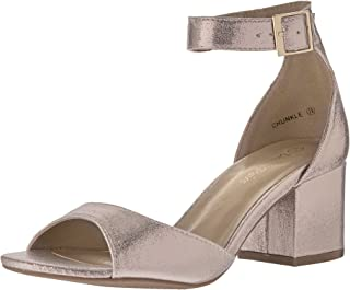 55ac6ba62758 Amazon.com  Gold - Heeled Sandals   Sandals  Clothing