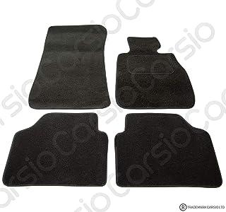 3 SERIES BMW E90-E91 SALOON 05-12 Carbon Luxury Rubber Car Mat Black 4 Pieces