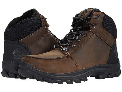 Timberland Snowhaze Mid Sport Insulated Waterproof Boot (Dark Brown) Men