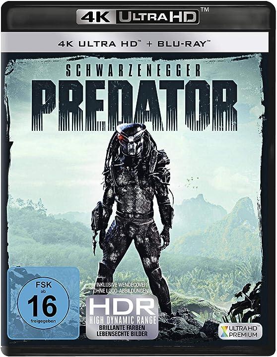 Predator 1 (4k ultra hd) (+ blu-ray 2d) arnold schwarzenegger B07FQ6GTJG