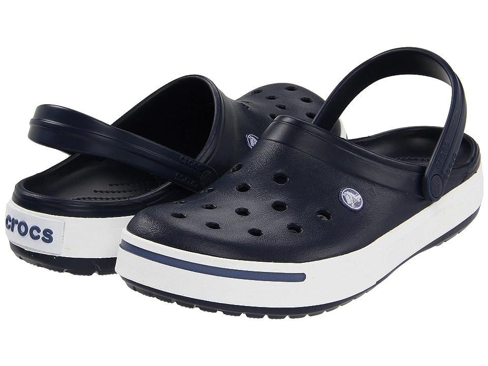 Crocs Crocband II Clog (Navy/Bijou Blue) Shoes