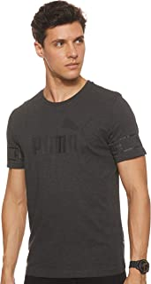 PUMA Men's Amplified Big Logo Tee