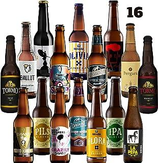 Pack de cerveza artesana. 16 Cervezas Artesanas de las