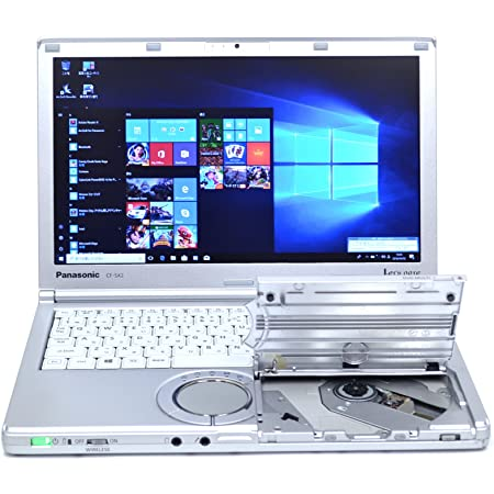 LTE対応 SSD パナソニック 中古ノートパソコン Let's note SX2 Core i5 3340M (2.70GHz) メモリ4G マルチ WiFi カメラ Windows10 Lバッテリ-
