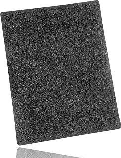 LILENO HOME Grill u. BBQ Matte 100 x 120 cm anthrazit - als perfekte bodenschutz Unterlage für Gas u. Holzkohlegrill - Grillunterlage Bodenschutzmatte für Familien-Grillabend auf der Terrasse