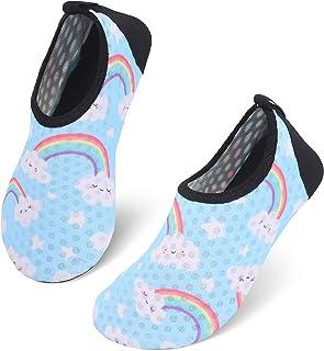 JIASUQI Kids Boys Girls Water Shoes Quick Dry Barefoot Aqua