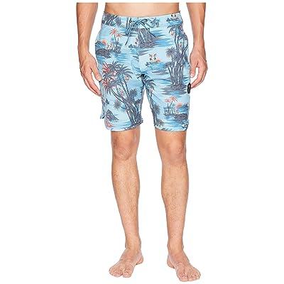 VISSLA Banzai Boardshorts 20 (Light Blue) Men