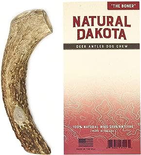 Natural Dakota Premium Deer Antler Dog Chew Toys