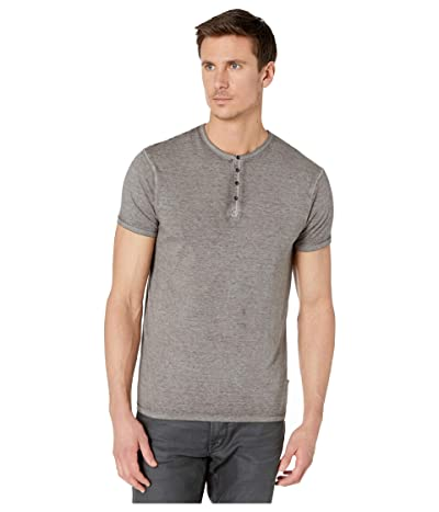 Buffalo David Bitton Kasum Short Sleeve Split Neck Henley (Ardent) Men