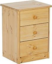 Steens 17800330 Mario - Mesilla de noche  (57 X 42 X 35 Cm) madera maciza de pino, lavada y tratada con aceite